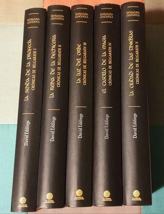 Literatura Fantástica. Crónicas de Belgarath