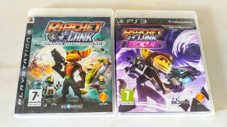 Pack Lote 2 Juegos PS3 Rachet and Clank