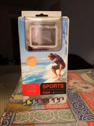 Cámara foto/video deportiva.
