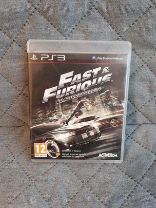 Fast & Furious Showdown PS3
