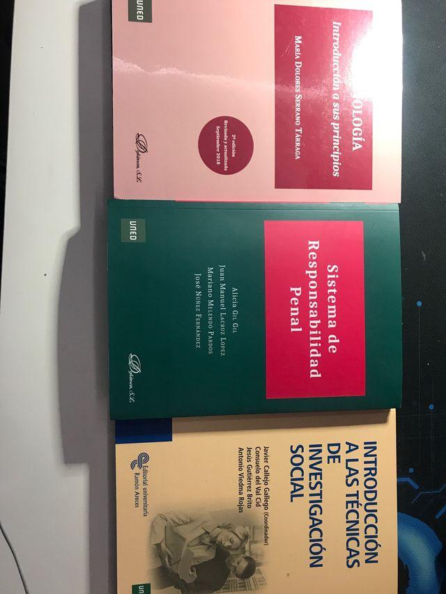 Libros Criminología UNED