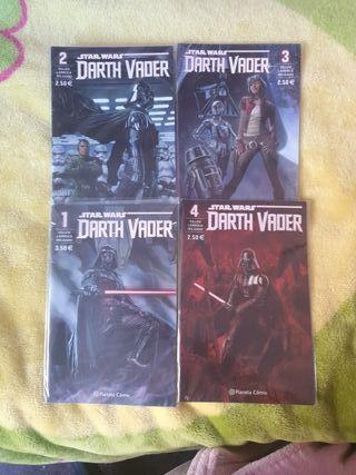 Cómics Darth Vader Star Wars 1-4