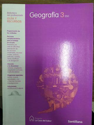 Geografía 3 eso Editorial Santillana