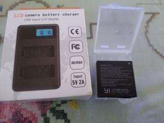 bateria y cargador camara xiaomi