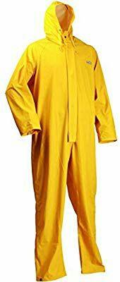 Ropa trabajo chubasquero amarillo