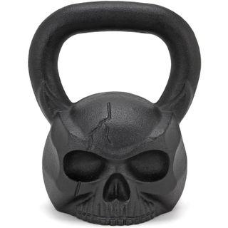 kettlebell skull , pesa rusa calavera