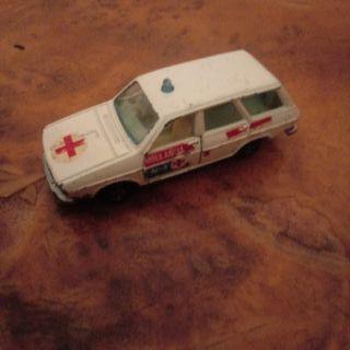 r 12 coche juguete años 80 guisval ambulancia