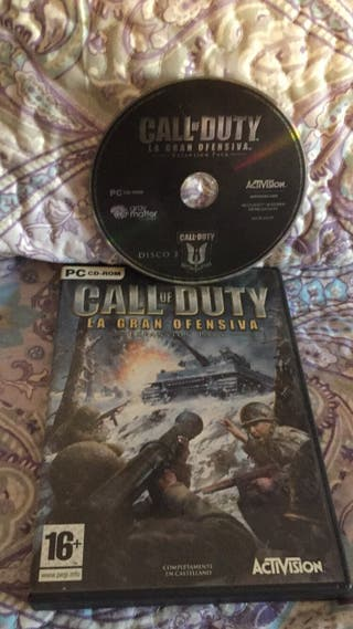 Juego pc (call of duty black ops)
