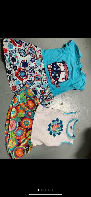 Pack vestidos, pantalones y camisetas