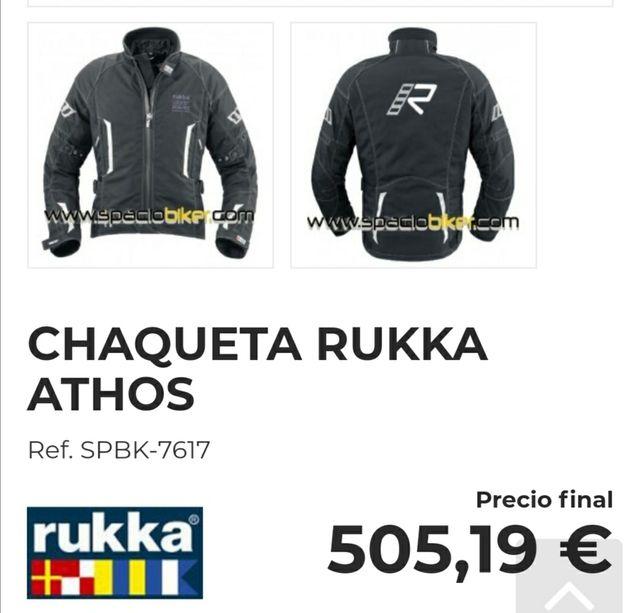 Chaqueta moto Rukka Athos Gore-tex.