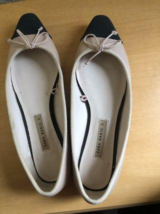 Zapatos clásicos zara