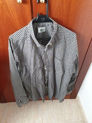 camisa de cuadros Lacoste