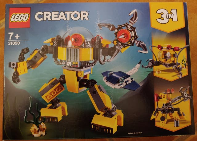 Juguete Lego 31090. Lego Creator 3 en 1.