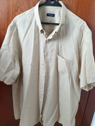 camisa lisa manga cirta