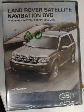 DVD de Navegacion de Freelander 2