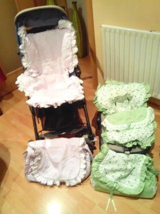 Silla carrito y grupo 0 para bebes