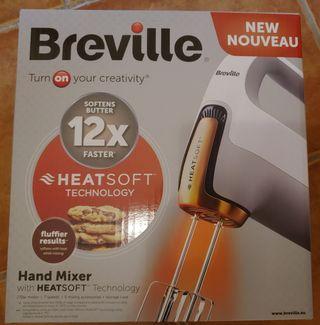 Batidora manual eléctrica con varilla - Breville.