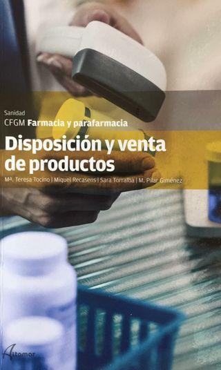Disposición y venta de productos parafarmacéuticos