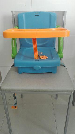 Trona de viaje en maletin + Asiento baño giratorio