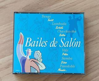 CD's de Bailes de salón