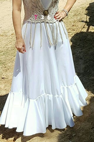Faldas rocieras T 36