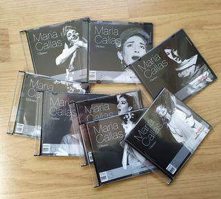 8 Cd's de María Callas