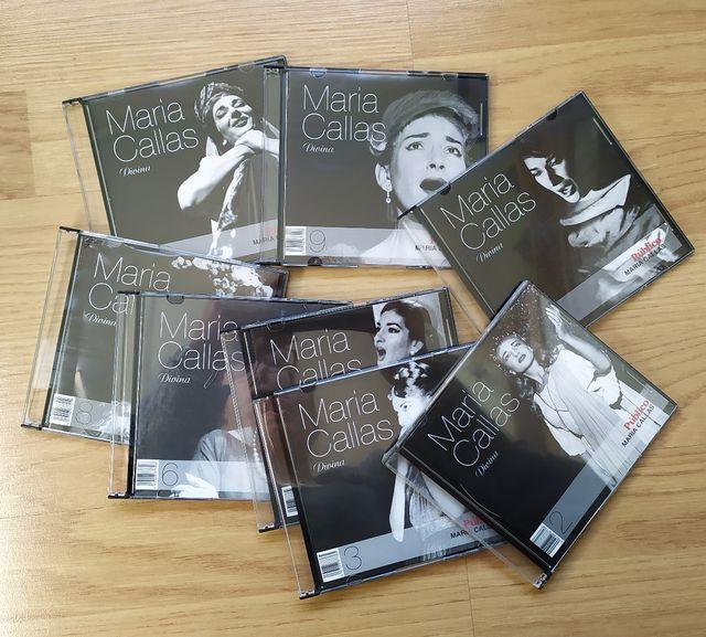 8 Cd's de ópera de María Callas