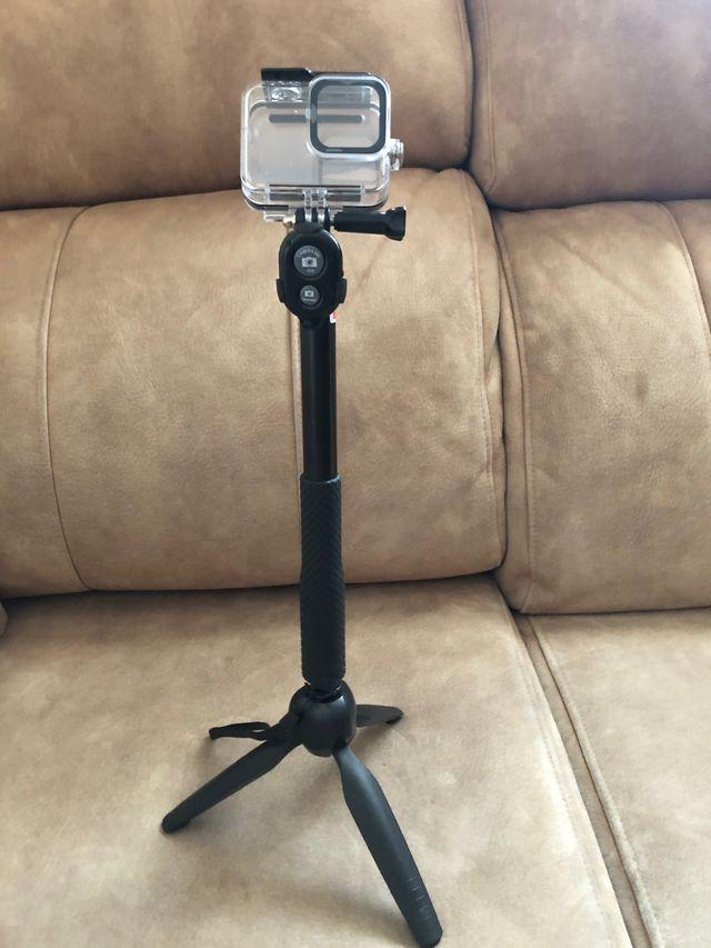Kit accesorios GoPro Hero 8 + kit selfie tripode