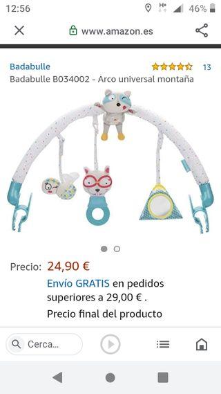 juguete Arco universal y cubo bebé