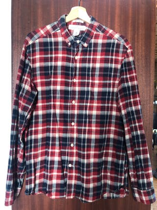 Camisa a cuadros masculina - H&M