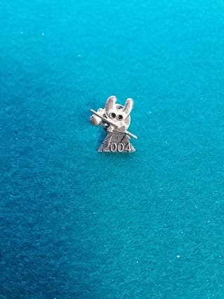 pin plata Xacobeo 2004