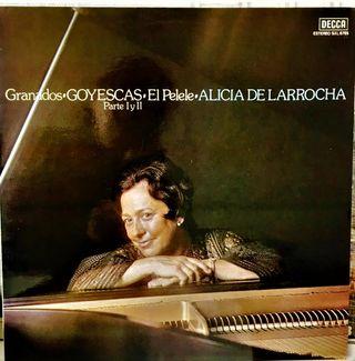 ALICIA DE LARROCHA - Granados-Goyescas LP