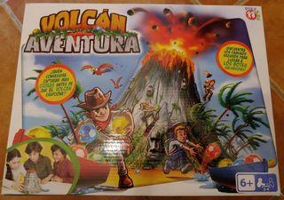 Juego Volcán Aventura.