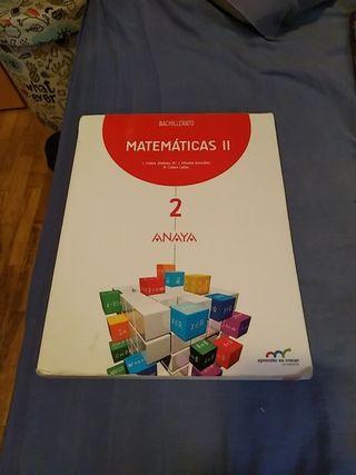 Matemáticas II 2° Bachillerato