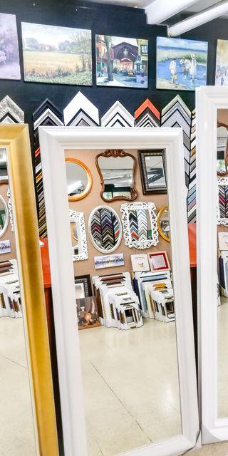 NUEVO Espejo Blanco 180x60