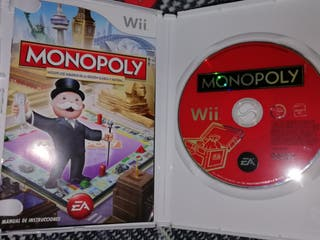 Nintendo Wii + mochila + Monopoly