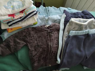 lote de ropa de 3a12 meses