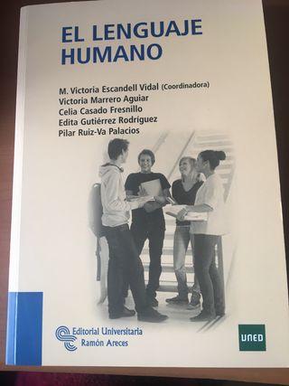 """Libro UNED """"El Lenguaje Humano"""""""