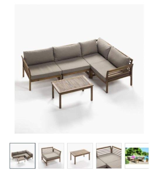 Mueble de jardín y playa