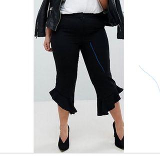 Pantalon Con volantes