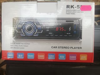 radio Bluetooth y usb
