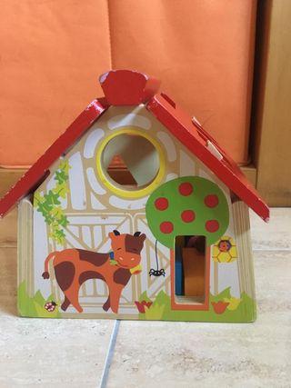 juguete casa madera
