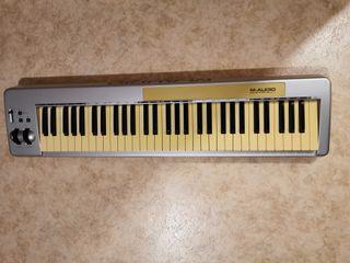 Clavier maître MIDI M-Audio Keystation 61b