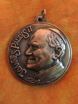 Medalla conmemorativa Juan Pablo segundo
