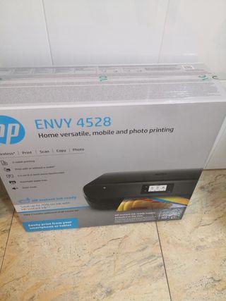 impresora wifi hp 4528