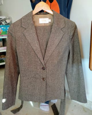 Traje de chaqueta de invierno talla 36