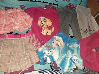 Lote ropa 5-6 años niña