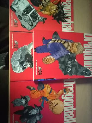 Comics Dragón ball 1-2-3-4