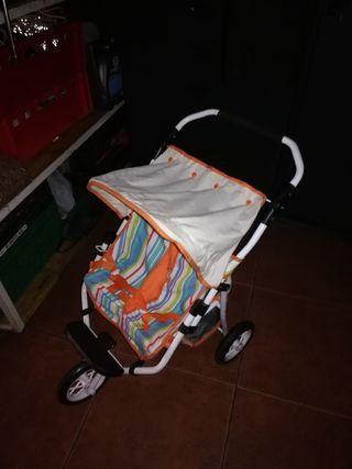 carrito para muñecos doble