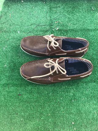 Zapatos tipo Boat mocasines